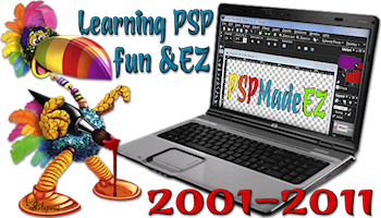 10-year logo for PSPMadeEZ